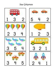 Transportation Preschool Activities, Transportation Worksheet, Preschool Learning Activities, Free Preschool, Preschool Themes, Printable Preschool Worksheets, Kindergarten Math Worksheets, Nursery Worksheets, Worksheets For Kids