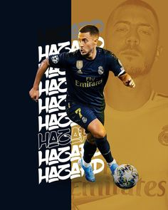 Football Design, Football Art, Football Players, Eden Hazard Wallpapers, Hazard Real Madrid, Real Madrid Wallpapers, Santiago Bernabeu, Real Madrid Football, Background Design Vector