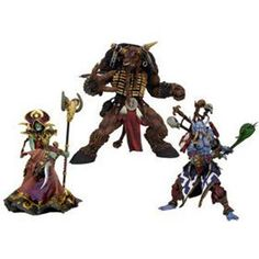 World of Warcraft undead Warlock Orc Action Figure