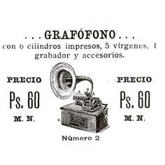 Con grabador! #1901 #argentina #buenosaires #ads #vintage