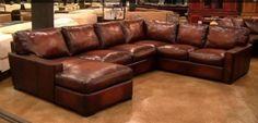 Napa Oversized Leather Sectional