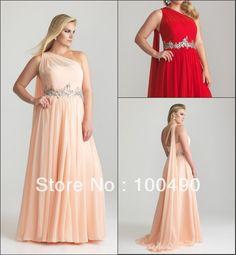 vestidos de fiesta de noche para gorditas 6786W Peach font b Grecian b