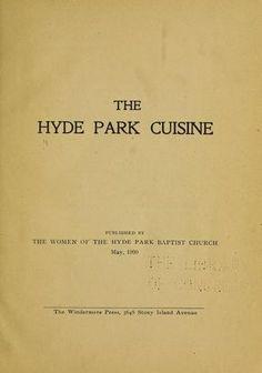 The Hyde Park cuisine