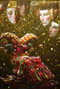 Victor Nizovtsev jester paintings - Google Search