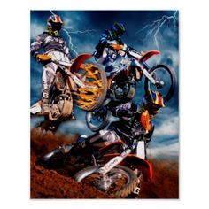 Designed Motocross poster #motorcycles#motocross#MCPHOTOPOSTER