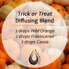 Fall ~ Trick or Treat Diffusing Blend