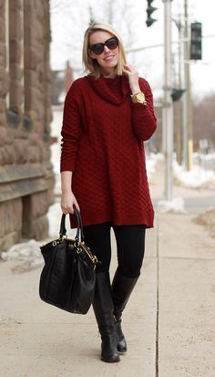 Comfy Chic. I love the comfy chic style because it's easy,classic and warm!