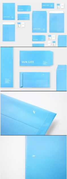 サンライフ SUN LIFE  #identity #branding #suptile #blue #design Ci Design, Name Card Design, Paper Design, Layout Design, Blue Design, Graphic Design Branding, Corporate Design, Identity Design, Visual Identity