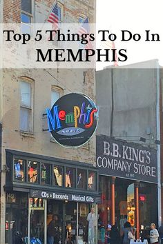 Top 5 things to do in Memphis, Tennessee on a USA road trip.