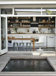 Current interior design trends are veering towards kitchens that are more laid back, casual and highly functional. As a result, a number of homeowners have decided to ditch the doors...