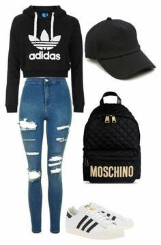 Basic adidas look Follow pinterest @MiahhNicole