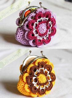 como fazer bolsa de crochê com lacre de latinha porta moedas, para você usar, presentear e também vender para aumentar sua renda familiar.
