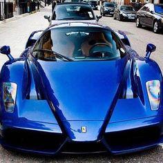 Italian Design ~ Royal Blue Ferrari Enzo kicking ass on #FerrariFriday. Check out #EbayGarage for more hot cars... www.ebay.com/motors/garage?roken2=ta.p3hwzkq71.bdream-cars
