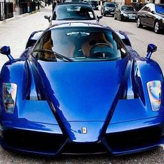 Royal Blue Ferrari Enzo! What colour would you choose? Comment below!