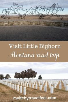 How to visit Little Bighorn on a Montana road trip that begins and ends in Billings. #montana #usatravel #roadtrip Idaho, Wyoming, Travel Usa, Canada Travel, Travel Tips, Road Trip Destinations, Road Trip Hacks, Travel Activities, Road Trip Usa