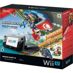 To replace dead Wii. For all the boys. Nintendo Wii U Mario Kart 8 Console Deluxe Set - Walmart.com
