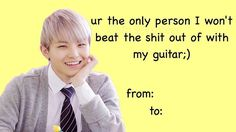 Listen to every Seventeen track @ Iomoio Valentines Anime, Funny Valentines Cards, Valentine Poster, Valentines For Kids, Valentines Gifts For Boyfriend, Valentine Ideas, Seventeen Memes, Seventeen Woozi, Anime Pick Up Lines