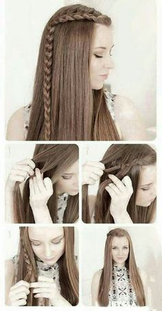 Splendid Best Hairstyles for Long Hair – Side Braids – Step by Step Tutorials for Easy Curls, Updo, Half Up, Braids and Lazy Girl Looks. Prom Ideas, Special Occasion Hair and Braiding Instruction . (curled prom hairstyles half up) Very Easy Hairstyles, 5 Minute Hairstyles, Side Braid Hairstyles, Braided Hairstyles Tutorials, Diy Hairstyles, Teenage Hairstyles, Wedding Hairstyles, Mermaid Hairstyles, Summer Hairstyles