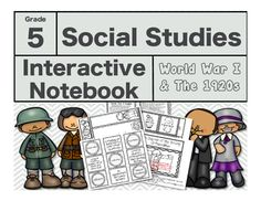 Interactive Notebooks provide students with a way to organize their thoughts as…
