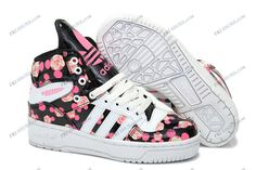 huge selection of 0352c 29f89 2013 Adidas Jeremy Scott Mickey Black Pink Women s Running Shoes online  shopping