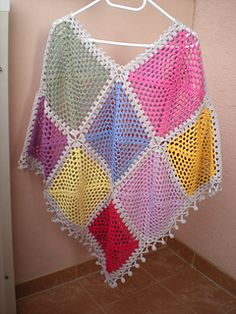 how to make a simple poncho