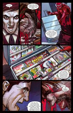 dead-poolanon: towritecomicsonherarms: This is one of the major differences between the comic and film. not that i mind as both versions are awesome. Epic Characters, Tell The Truth, Nerd, Dads, Coding, Film, Awesome, Movie, Speak The Truth