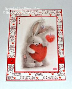 BeBunni Love card sample 1