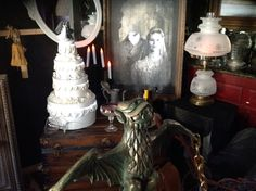 Constance is not a good woman, as shown in the attic scene.  An ode to the Haunted Mansion ride. Happy Halloween!