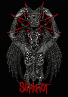 Slipknot Merchandise Graphic by Andee Cris Heavy Metal Bands, Heavy Metal Rock, Heavy Metal Music, Rock Band Posters, Rock Poster, Music Artwork, Metal Artwork, Slipknot S, Metal Band Logos