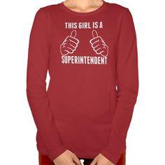This Girl Is A Superintendent T Shirt, Hoodie Sweatshirt