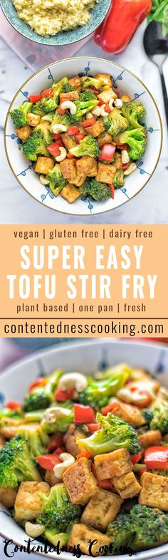 Chinese 5 Spice Tofu Stir Fry - amazingly fresh and tasty, entirely vegan and gluten free. An easy and satisfying recipe for a tofu stir fry which is packed with lots of flavors and nutrients.