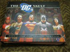 new  DC Comic Heroes Museum-In-A-Book The DC Vault memorabilia