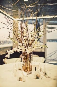 Breathtaking Best 25+ Tall wedding centerpieces https://weddingtopia.co/2018/02/08/best-25-tall-wedding-centerpieces/ Turn the vase until you're pleased with how the floral arrangement looks with the pedestal and the remainder of the room