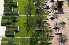 Central park Beiqijia Technology Business District by Martha Schwartz Partners Park Landscape, Landscape Plans, Urban Landscape, Contemporary Doors, Contemporary Landscape, Contemporary Architecture, Contemporary Building, Contemporary Apartment, Contemporary Chandelier