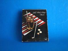 Vintage Golf Clubs Swizzle Sticks  Cocktails Silver by FunkyKoala