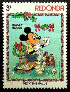 Your place to buy and sell all things handmade Mickey Mouse Art, Postage Stamp Art, Wooden Picture Frames, House Mouse, Deck The Halls, Decoupage, Christmas Gifts, Disney, Handmade