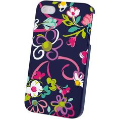 Vera Bradley Snap On Case for iPhone 4/4S ($35) ❤ liked on Polyvore