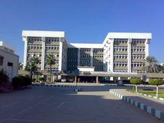 Faculty of medicine Tanta university main entrance in Egypt.