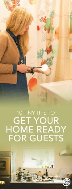 10 Tiny Steps to Get Your House Ready for Thanksgiving Guests. Hosting Thanksgiving is a big deal. With everything you've got going on in the kitchen, who has time to deep-clean the house? Thankfully, there's no need to stress -- even if you're a first time party host. Get your place organized and ready in no time with these EASY tips!