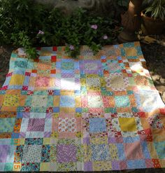 Hey, I found this really awesome Etsy listing at https://www.etsy.com/listing/240438135/handmade-baby-quilt-30s-fabric-54-x-48