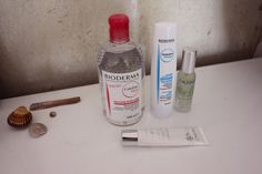 Primer & lacquer - French Beauty // New Hair Care bioderma maske