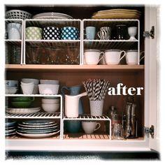 Organised Kitchen. Homefries