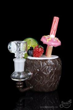 needsomeweedaight:  Empire Glassworks Coconut Colada Mini Rig