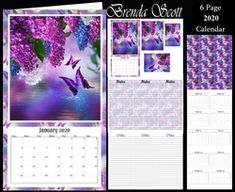 - 2020 Mini Calendar You get 6 pages Page 1 - Topper with pyramage Page 2 - Matching note paper to put inside Page 3 - P. Chore Calendar, Free Printable Calendar, Calendar 2020, Schedule Calendar, Calendar Journal, African Cats, Using People, December Bullet Journal, Online Journal