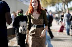Paris Fashion Week Street Style | Spring 2017 Day 6 – The Impression