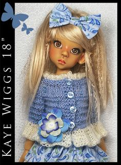 """SPRING Outfit for KAYE WIGGS 18"""" MSD by Maggie and Kate Create"""