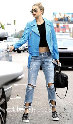 Gigi Hadid Shows Us How To Pull Off Multiple Trends At Once