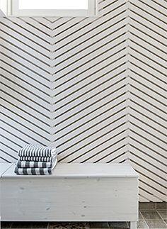 Valkoinen pukuhuone, Omatalo Uniikki, Asuntomessut 2014