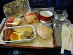 Philippine Airlines - Food in the plane