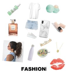 """""""Untitled #5"""" by mashaluba on Polyvore featuring S'well, Topshop, Alexander McQueen, Recover, EF Collection, Chanel, Mario Badescu Skin Care, Eos and Burberry"""